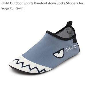 Other - Adorable nonslip water shoes NWT